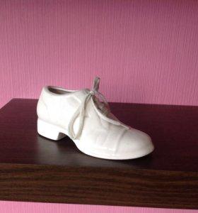 Фаянсовый ботинок