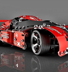 Конструктор Meccano Turbo Гоночная машина RC Pro