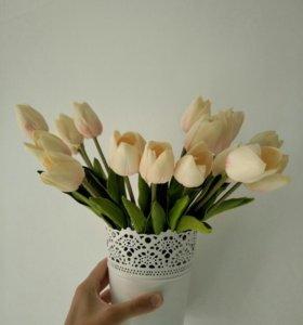 Букет тюльпанов 19 шт.