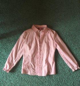 Рубашка школьная детская