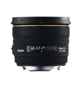 Sigma 50mm f1.4 DG HSM for Canon