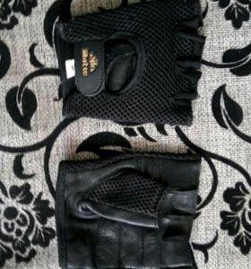 Перчатки для фитнеса.Кожа.