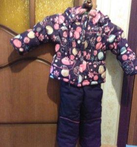 Детский комбинезон с курткой.