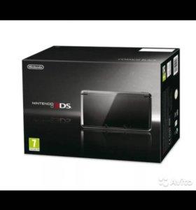 Nintendo 3ds+ 2 игры + крепление для удобства