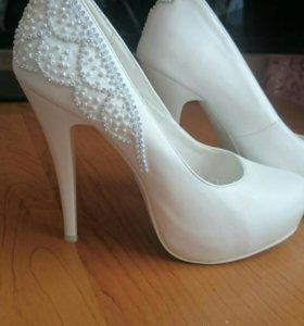 Свадебные туфли р.37