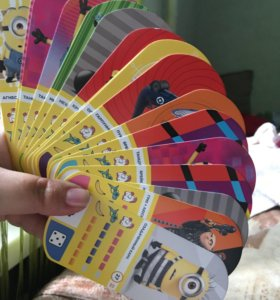 "Карточки из Магнита ""Гадкий Я 3"""