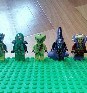 Мини фигурки Лего Ниндзяго
