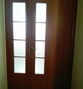 Продам межкомнатные распашные двери