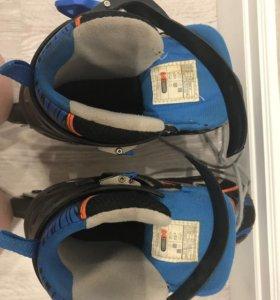 Роликовые коньки раздвижные, размер 31-36
