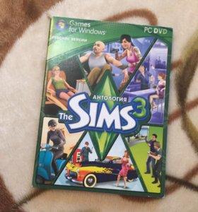 Продаю диск игры The sims 3 Антология