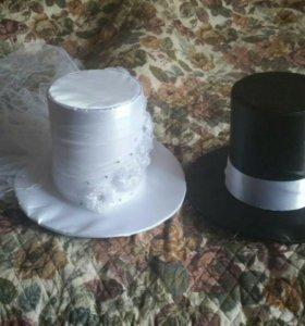Шляпы для свадебных машин