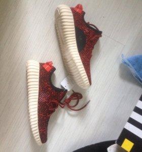женские кроссовки adidas yeezy boots 38 рр