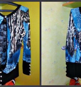 Продам новые кофточки и блузки от 48-52