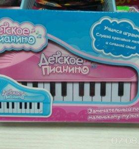 Новое Детское пианино