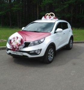 Аренда автомобиля Kia Sportage III