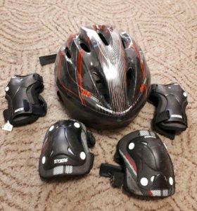 Продам шлем и защиту для роллеров, б/у два раза