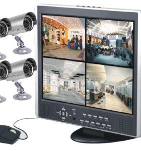 Комплект видеонаблюдения DIY