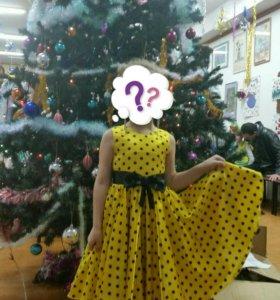 Платье детское 4- 7лет