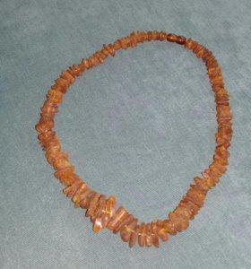 Лечебные бусы из Янтаря(щитовидку лечат)