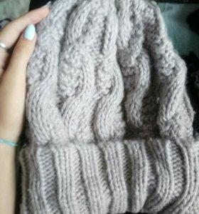 Теплая шапка