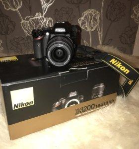 Зеркальный фотоаппарат Nikon D3200 18-55II Kit