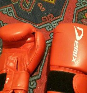 Боксерские перчатки 6 размер