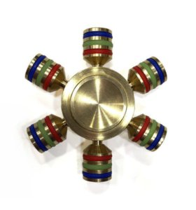 Металлический спиннер, шестигранный