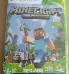 Игра Minecraft на xbox 360