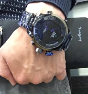 Часы Weide и портмоне baellerry business