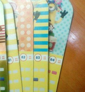 """Карточки """"Гадкий Я 3"""" от Магнит."""