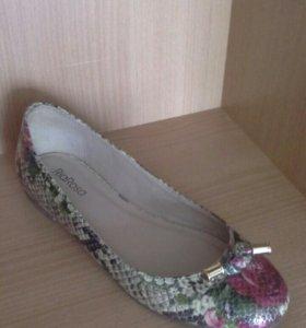 Туфли- балетки 37.5 размер