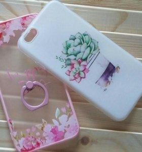 Чехлы и стекло на iPhone 6/6s