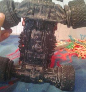 Машинка на пульту плюс в подарок спинер и колеса