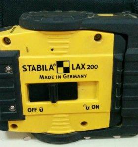 Лазерный уровень Stabila Lax 200