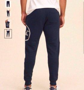 Спортивные штаны, флисовые HOLLISTER