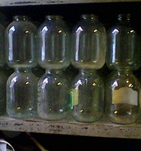Стеклянные банки под закатку 3 литра 50 штук