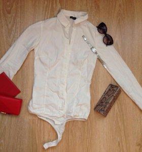 Блузка рубашка боди