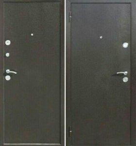 Дверь входная теплая металл/металл 3 петли