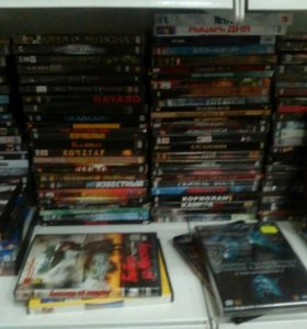Много DVD дисков