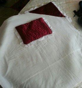 Одеяло уголок на выписку