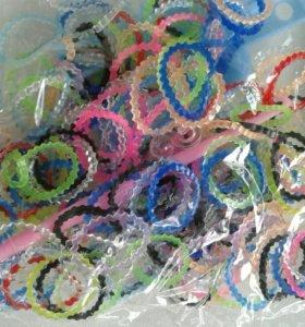 резиночки для плетения совершенно новые