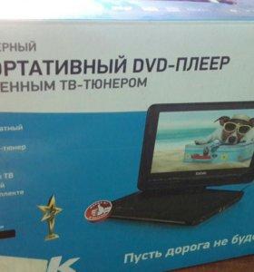 Портативный DVD со встроенным тв-тюнером