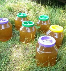 Мёд с деревенской пасеки