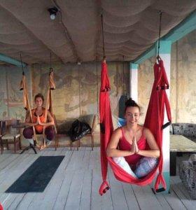 Гамаки для йоги Антигравити