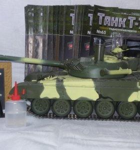 Танк Т-72 Deagostini.