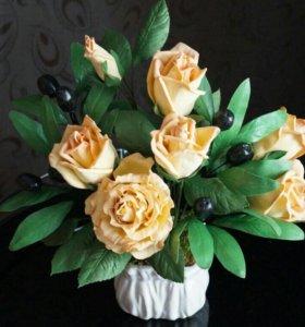 В наличии Букеты и цветы