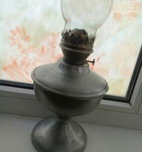 Керосиновая лампа 50-х г.г.алюмин.