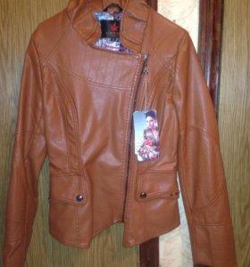Куртка новая,мягкая кожа
