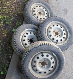 Комплект зимних колес ВАЗ R14