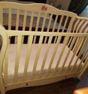 Детская кроватка Италия Baby Italia Andrea Vip